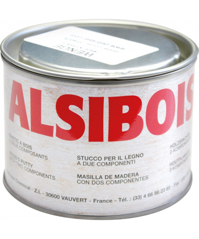Alsibois - Spachtelmasse 0,4 l neutral