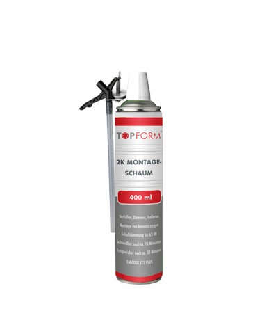 Topform 2-K-Montageschaum 400 ml EC1 plus