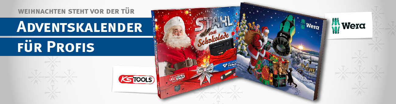 Adventskalender Wera & KS Tools